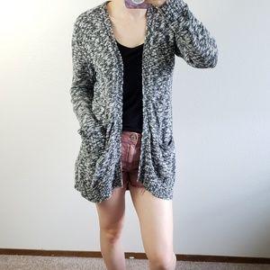 Old navy slouchy slub knit cardigan